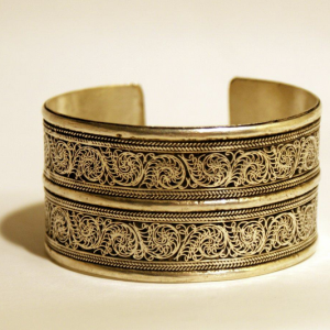 Double Filigree Bracelet