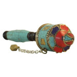 Turquoise Stone Prayer Wheel