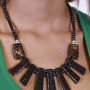 Black Bone Necklace