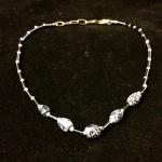 9089 Glassbead anklet